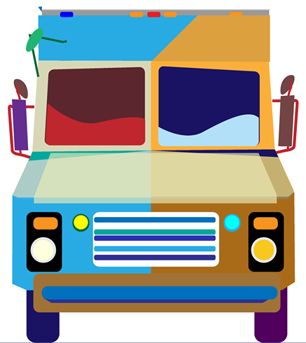 Festival update help fund and get t shirt stickers for Cool food truck designs